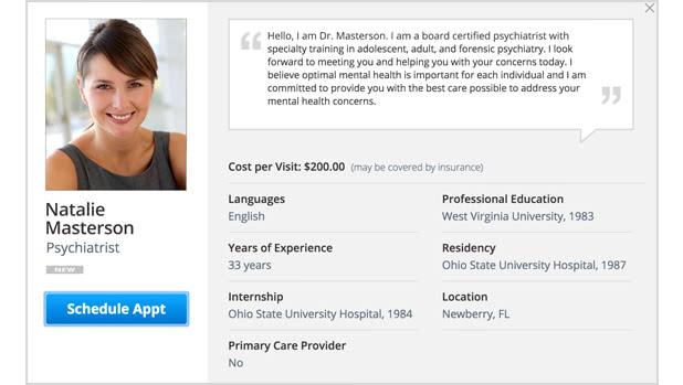 Online Psychiatrists - Amwell